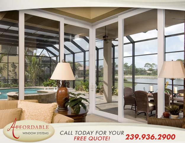 Replacement Sliding Glass Doors in and near Bonita Springs Florida