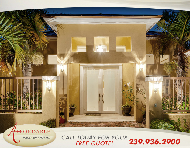 Impact Doors in and near Cape Coral Florida