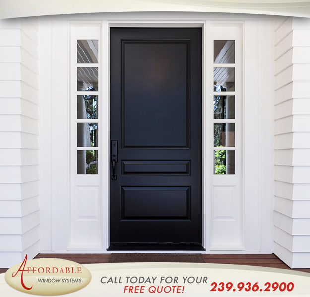 Replacement Entry Doors in and near Cape Coral Florida