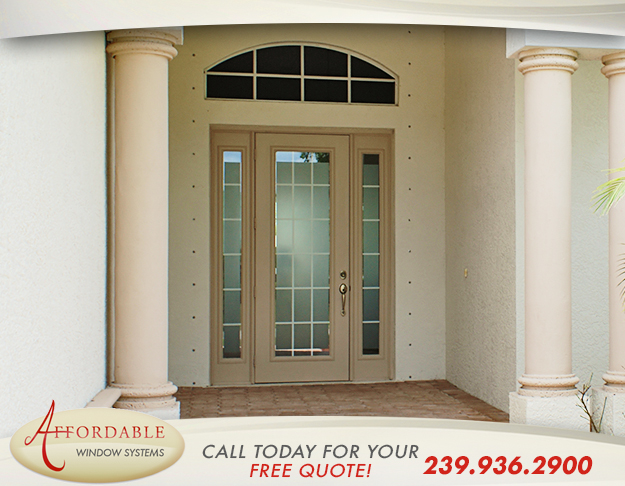 Home Door Replacement in and near Cape Coral Florida