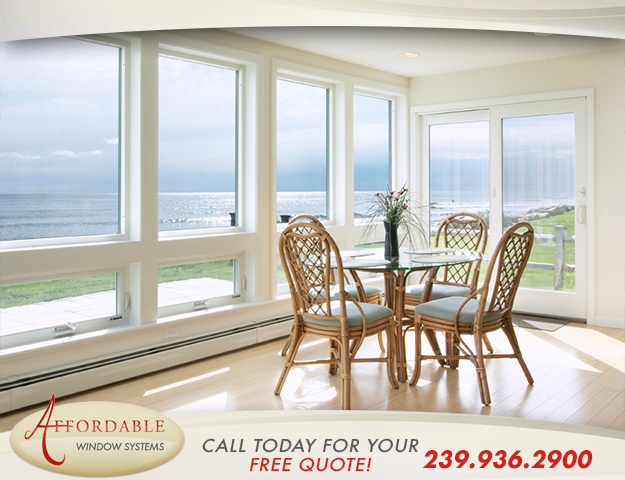 Replacement Impact Vinyl Windows in and near Cape Coral Florida