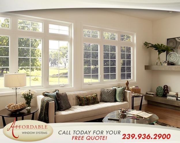 Replacement Casement Windows in and near Estero Florida
