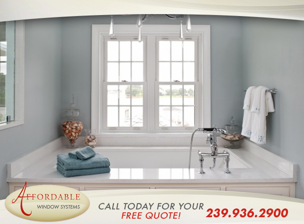 Replacement Double Hung Windows in and near Estero Florida