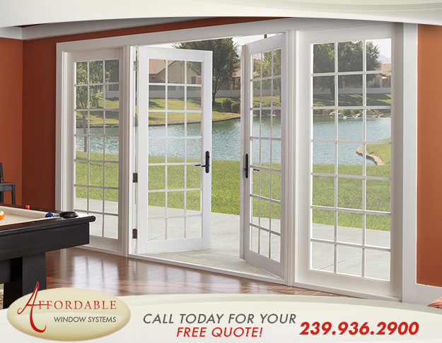 Replacement Energy Efficient Doors in and near Estero Florida