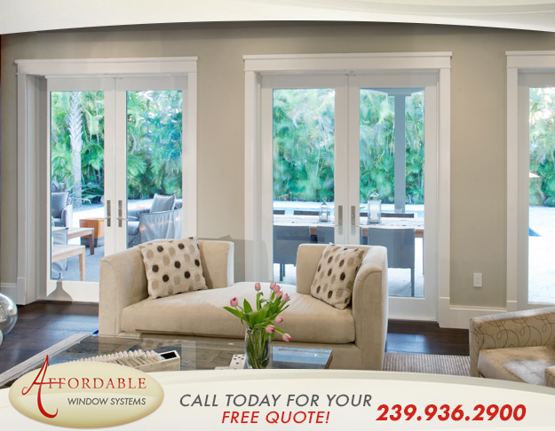 Replacement French Patio Doors in and near Estero Florida