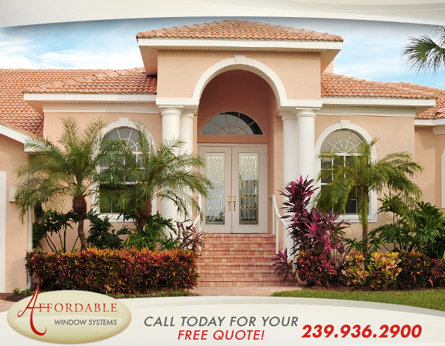 Replacement Impact Entry Doors in and near Estero Florida