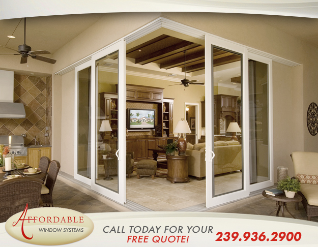 Replacement Sliding Patio Doors in and near Estero Florida