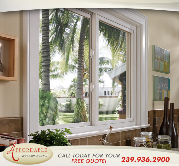Replacement Sliding Windows in and near Fort Myers Florida