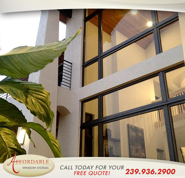 Replacement Aluminum Windows in and near Naples Florida