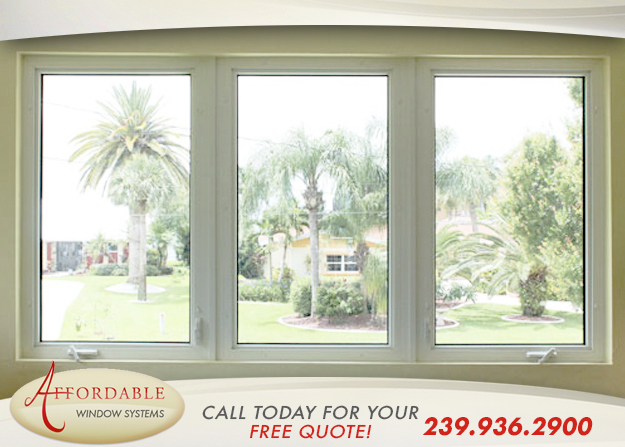 Replacement Impact Casement Windows in and near Venice Florida