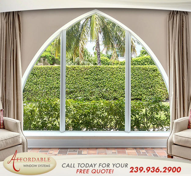 Replacement Shape Windows in and near Port Charlotte Florida