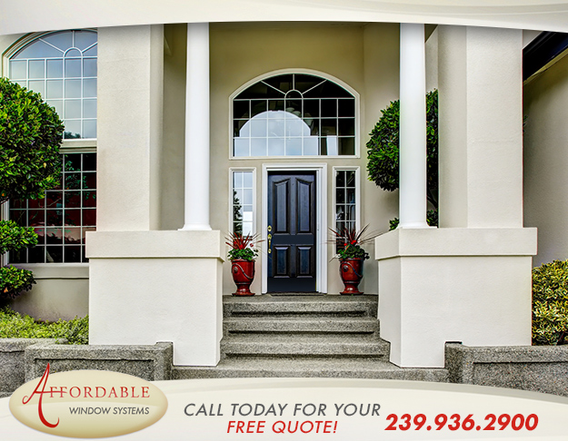 Replacement Aluminum Doors in and near Sanibel Florida