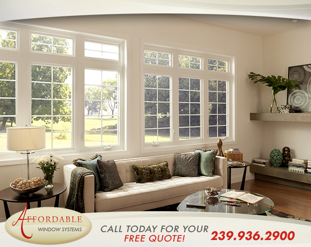 Replacement Casement Windows in and near Sanibel Florida