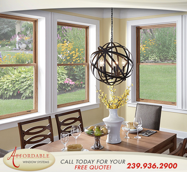 Replacement Impact Double Hung Windows in and near Sanibel Florida