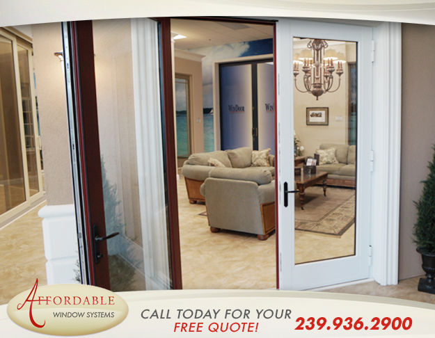 Replacement Impact French Patio Doors in and near Sanibel Florida