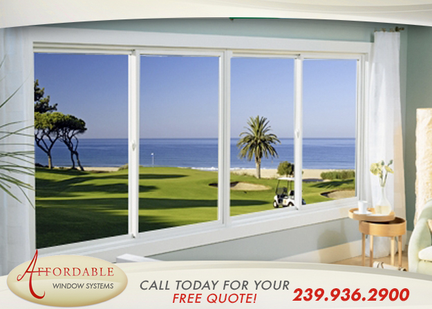 Replacement Impact Sliding Windows in and near Sanibel Florida