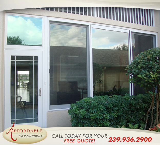 Replacement Impact Windows in and near Sanibel Florida