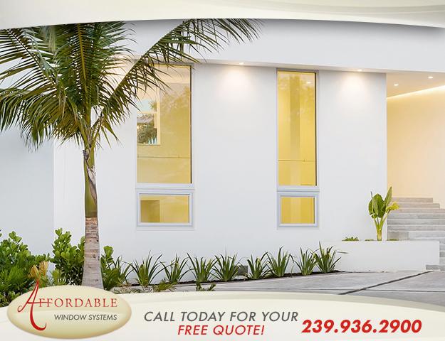 Replacement Impact Aluminum Windows in and near Sarasota Florida