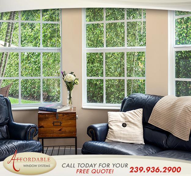Replacement Impact Single Hung Windows in and near Sarasota Florida